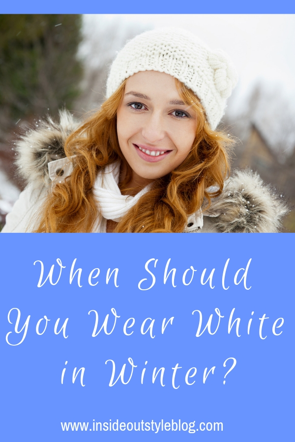 When Should You Wear White in Winter?