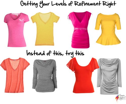 getting your levels of refinement right