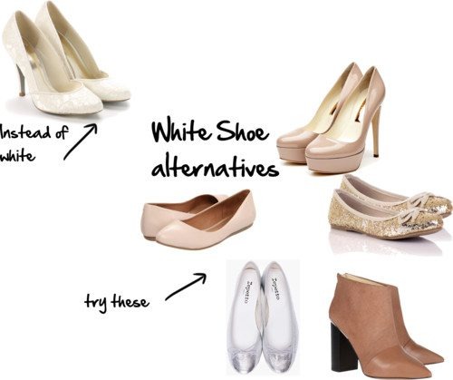 white shoe alternatives