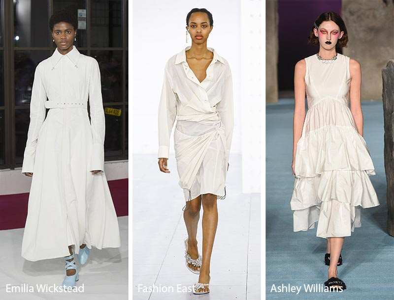 White in winter - Autumn/winter 2019 fashion trends
