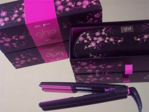 GHD Pink Cherry Blossom Straightener Review