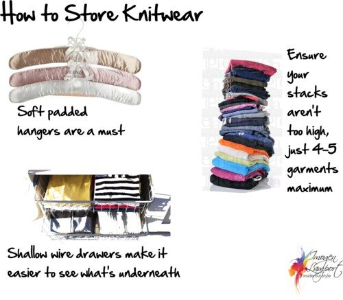 How to Store Knitwear