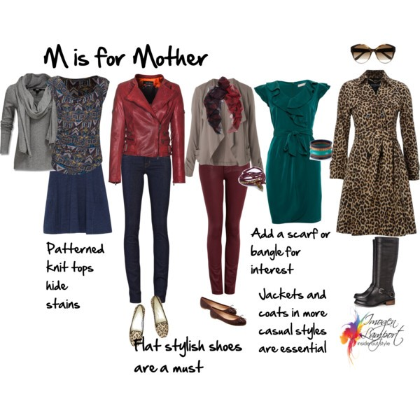 What to wear to be a stylish mother - get the best tips on dressing to flatter and look stylish in clothes that are practical and comfortable