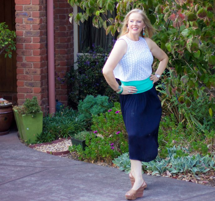 Style tips for mothers - wearing skirts