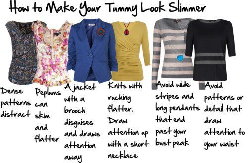 Top 10 Tips on How To Make Your Tummy Look Slimmer