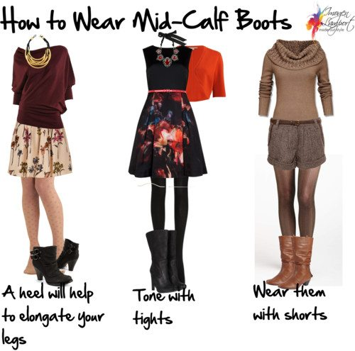 How to Wear Mid-Calf Boots