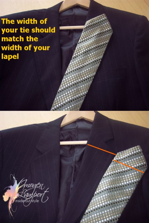For the Guys – Suit Lapels and Ties