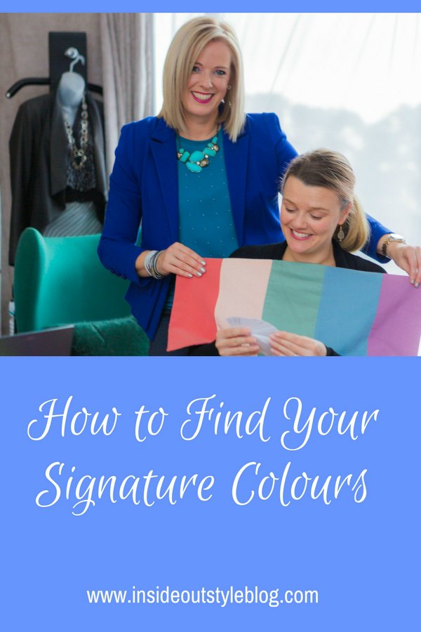 How to Find Your Signature Colours - your eye enhancers, skin enhancers, and hair enhancers - these are your ultimate or knockout colours