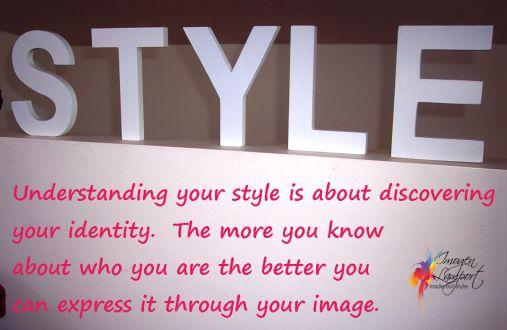 Thought of the Day – Style and Identity