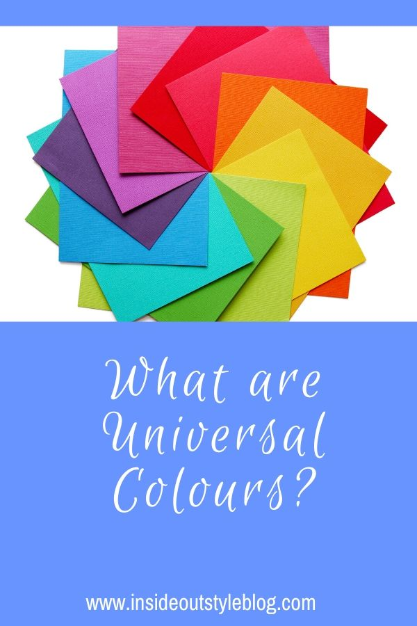 What are Universal Colours?