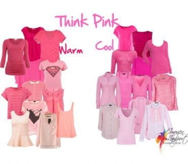 How to distinguish the undertone of pink