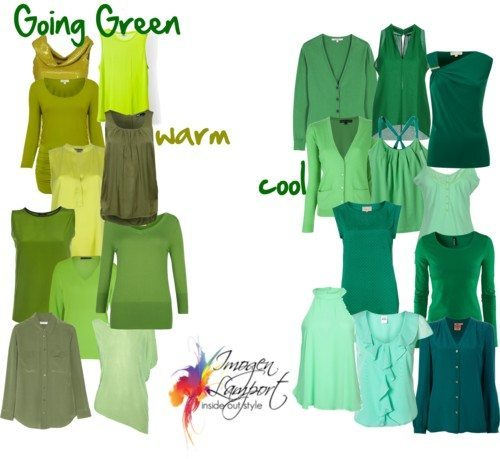 Going Green and Sheer Style