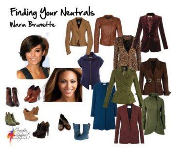 Neutrals for Brunettes