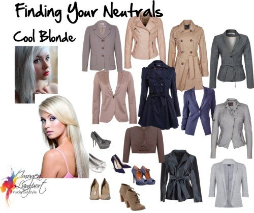 Finding your neutrals - cool blonde