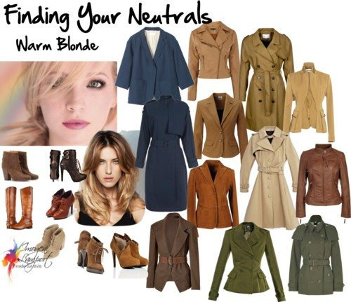 Finding your neutrals - warm blonde