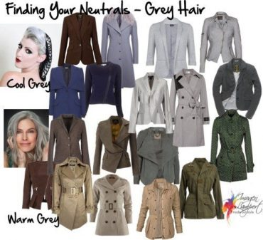 Finding Your Neutrals - Grey Hair
