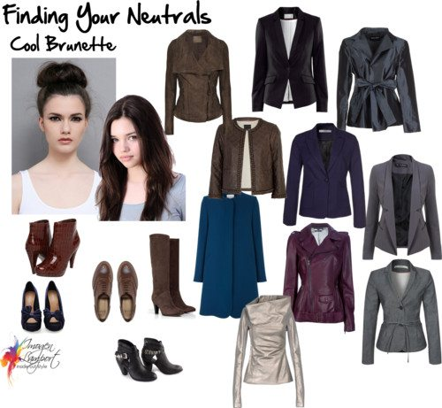 Finding Your Neutrals - cool Brunette