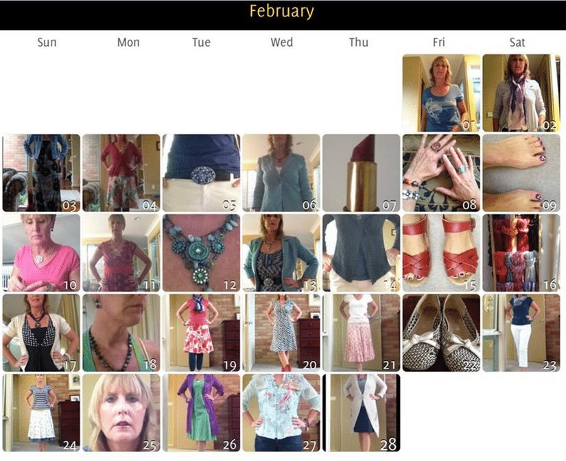 FABruary Style Challenge Wrap