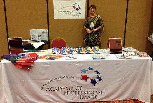Our Academy of Professional Image Colour and Image Consultant Tools Trade Table