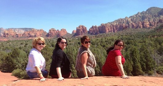 We took a Pink Jeep Tour (which was fantastic) on the Broken Arrow trail and this pic is from Submarine Rock in the Sedona surroundings