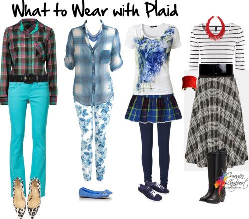 Reader Question: What to Wear with Plaid