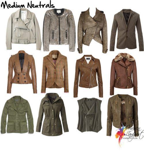 medium neutrals