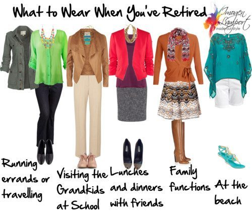 What to Wear when You've Retired