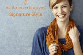 Tips on discovering your signature style