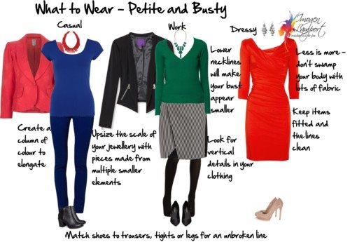 What to Wear – Petite and Busty