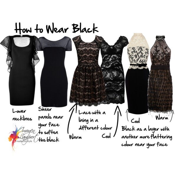 How to Wear Black When It's Not Your Colour