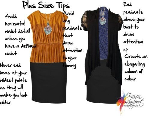Tips for the Plus Size