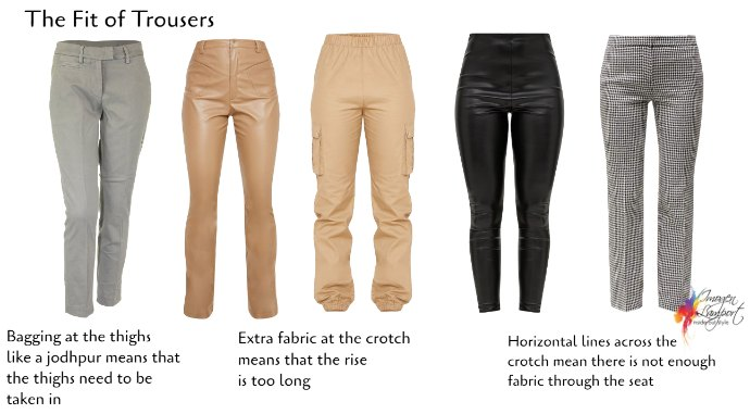 How to know if trousers fit correctly