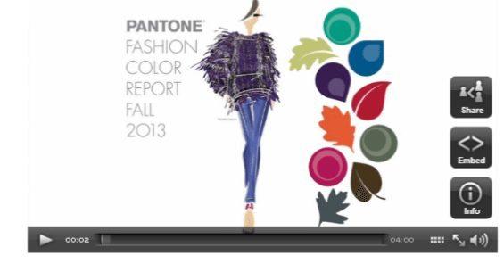 Pantone colours 2013