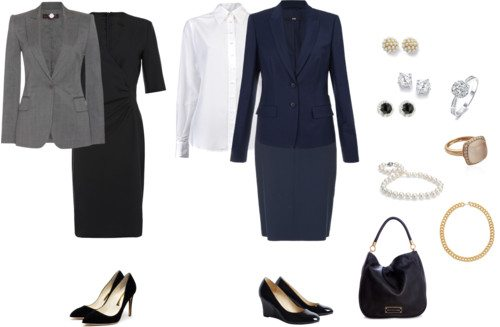 Level 1 business dress