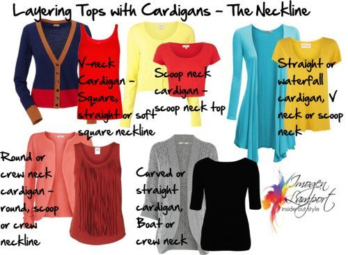 Layering Tops – The All Important Neckline