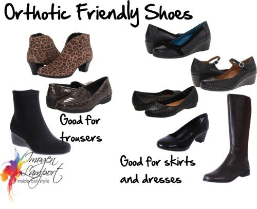 Orthotic Friendly Shoes by imogenl featuring orthaheel shoes