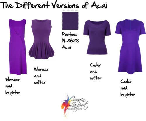 Pantone Acai – Colour Trend for 2013