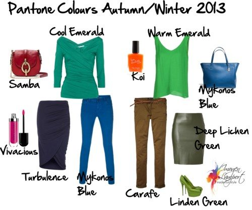 Pantone Colours Autumn/Winter 2013