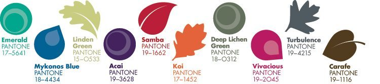 Colour Trends of Autumn/Winter 2013
