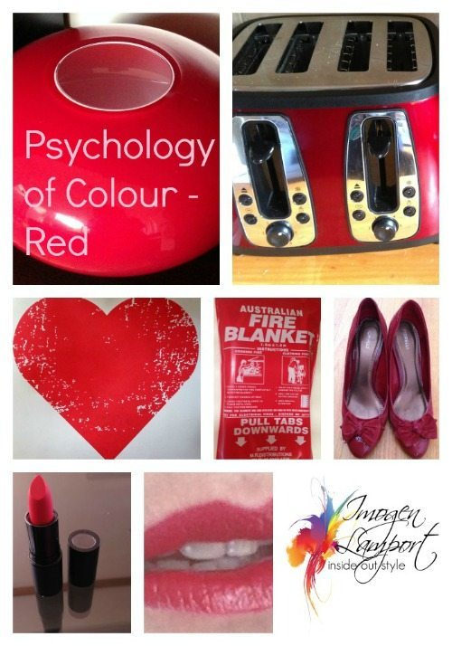 Psychology of Colour – Red