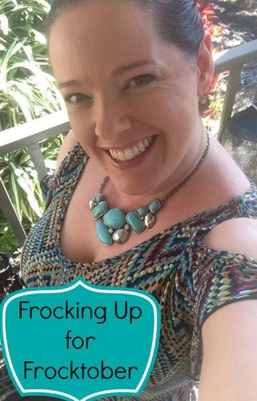Frocking up for Frocktober