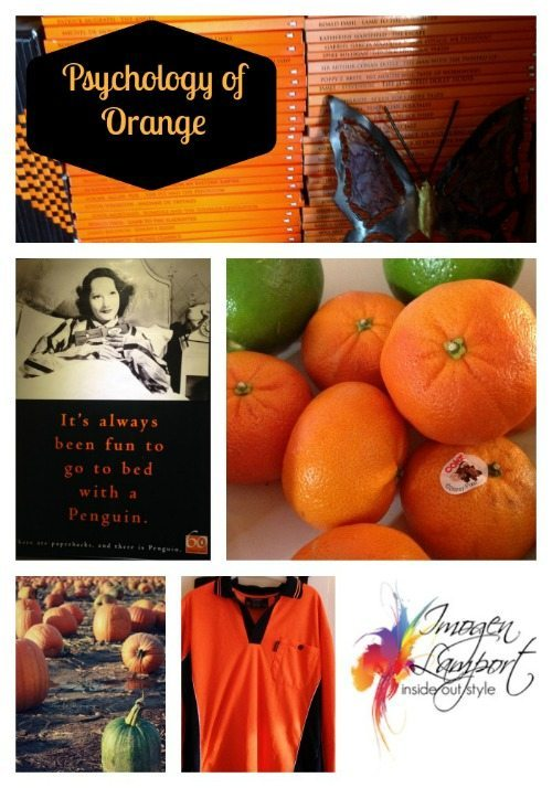psychology of colour orange