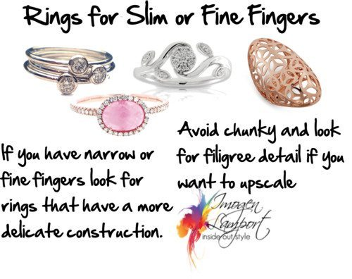 Rings for Slim or Fine Fingers