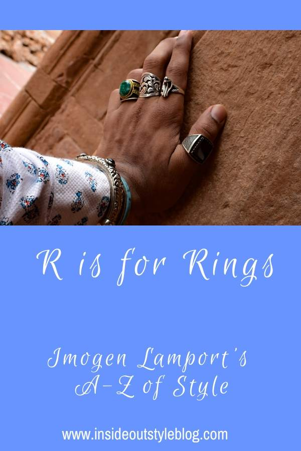 R is for Rings - Imogen Lamport's A-Z of Style  - how to choose rings to flatter