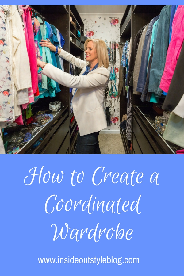 How to create a coordinated wardrobe