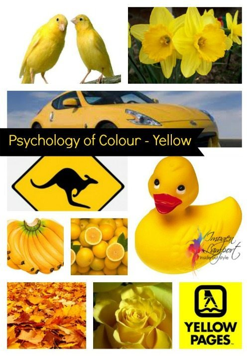 Psychology of Colour – Yellow