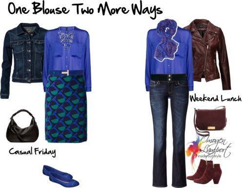 One Blouse Two MOre Ways