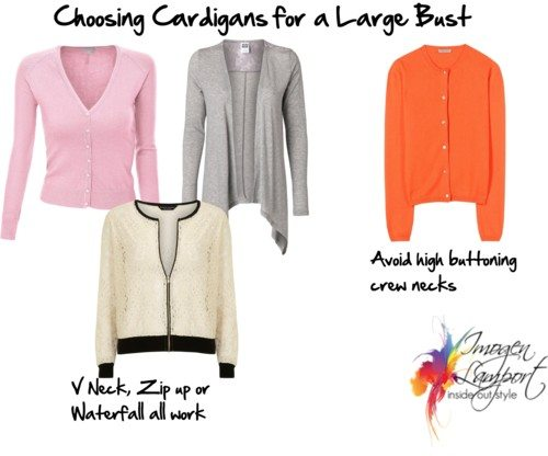 Choosing Cardigans for Large Busts
