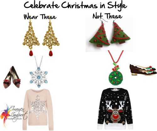 Christmas Themed Dressing and Accessorizing – The Dos and Don'ts