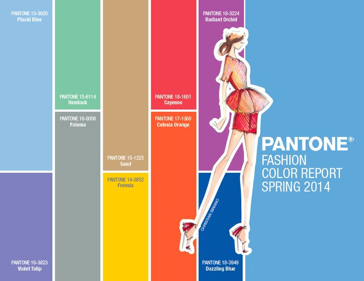 Panton colours spring summer 2014